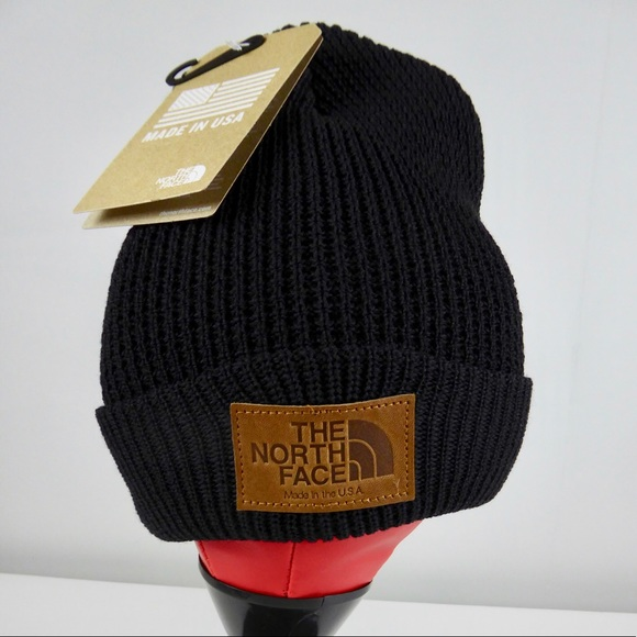 North Face Made in USA Wool Waffle Knit Beanie Hat c4d98cadcab